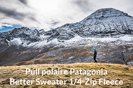 Actualité : Pull polaire Patagonia Better Sweater