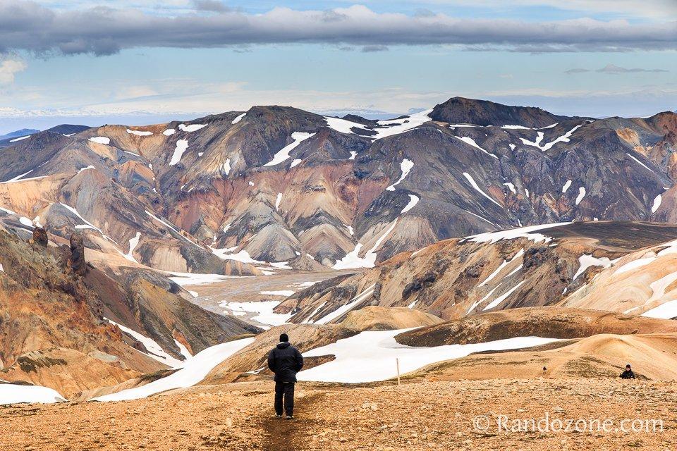 Trek du Laugavegur en Islande