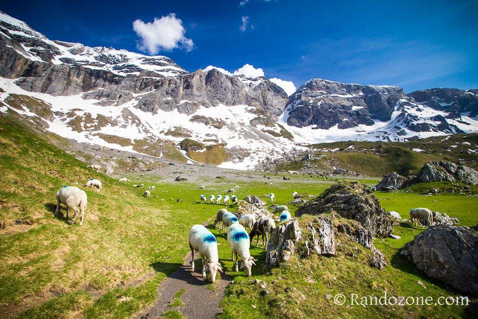 Cirque de Troumouse dans les Hautes-Pyrénées