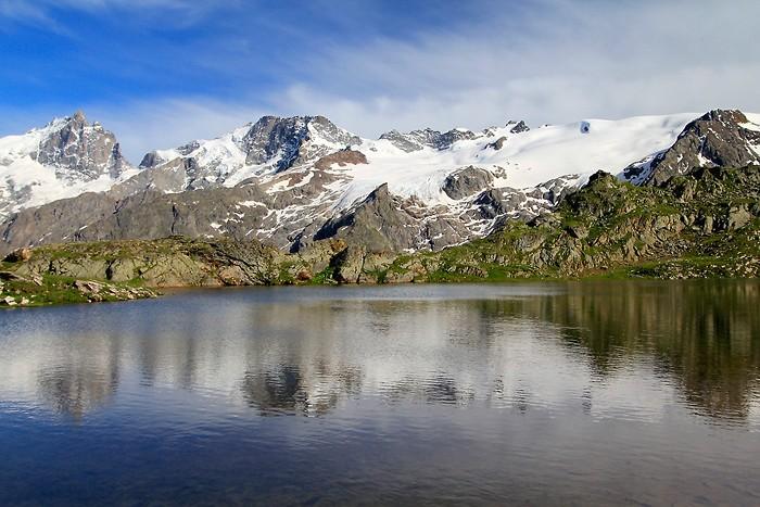 Bivouac au bord du lac Lérié