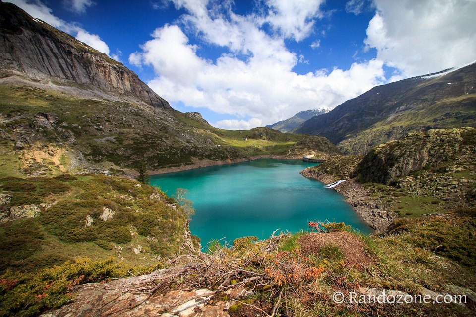 Belles couleurs au lac des Gloriettes