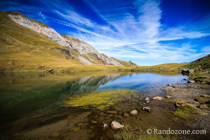 Reflets dans le lac des Especières