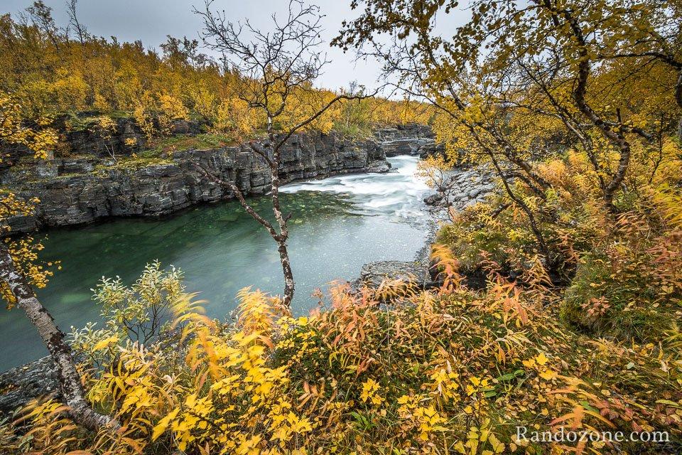 Randonnée dans le parc d'Abisko en Suède