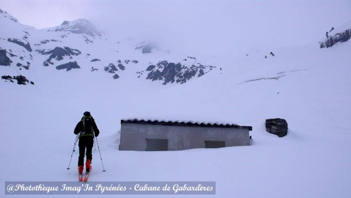 La cabane de Gabardères dans la vallée d'Ossau