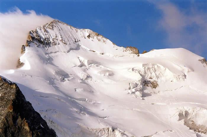 Barre des Ecrins dans les Alpes. Photo : Pierre P.