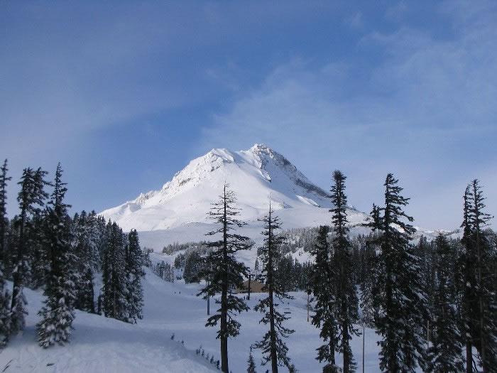 Mont Hood dans la chaîne des Cascades