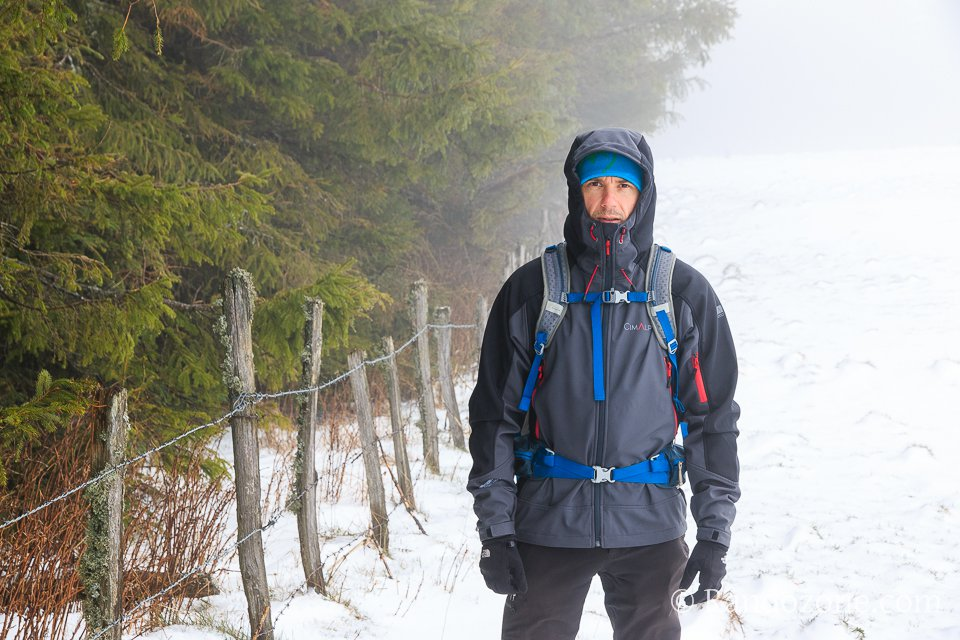 Test de la veste softshell Cimalp SuperStrong Summit