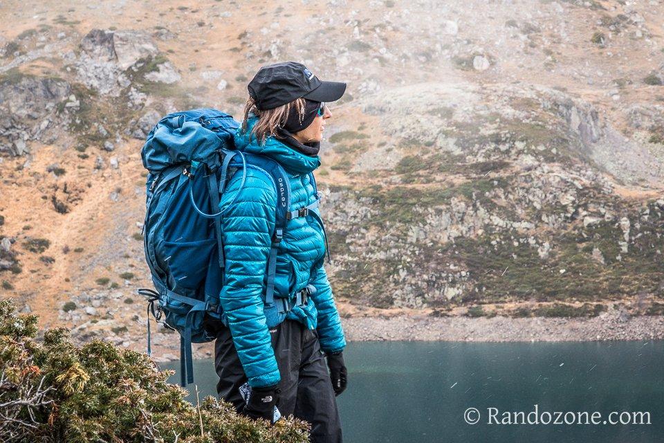 Test de la doudoune Quechua X-Light