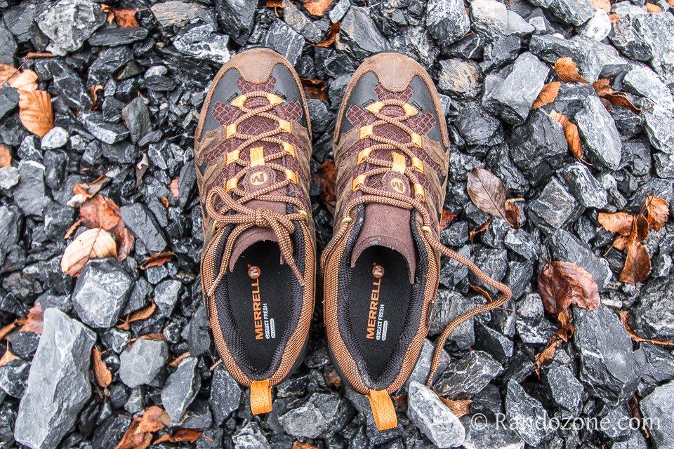 Test des chaussures Merrell Chameleon Shift Ventilator